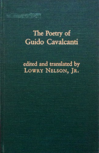 9780824094164: The Poetry of Guido Cavalcanti (Garland Library of Medieval Literature, Vol. 18)