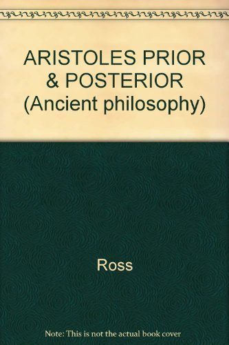 9780824095871: ARISTOLES PRIOR & POSTERIOR (Ancient philosophy)