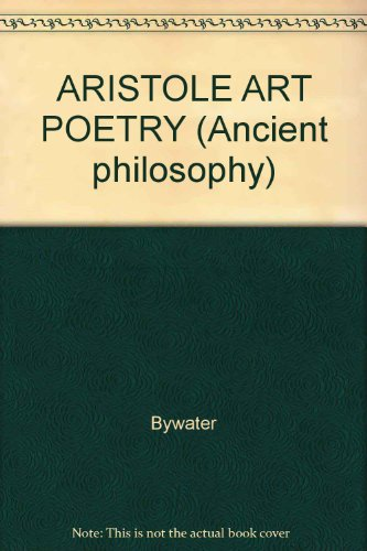 9780824096076: ARISTOLE ART POETRY (Ancient philosophy)