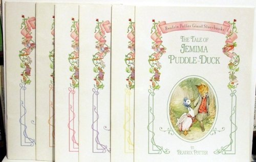 9780824100216: Beatrix Potter Giant Storybooks - Complete Set of 6 Books