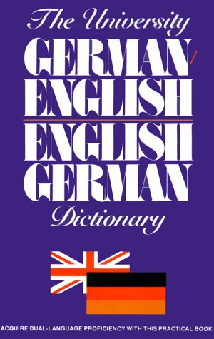 The University German/English, English/German Dictionary (German Edition) (9780824103903) by Ottenheimer Publishers