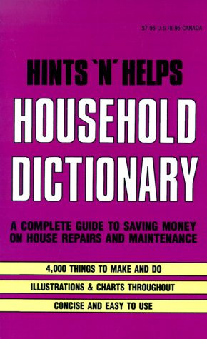 Hints 'N' Helps Household Dictionary (9780824103996) by Ottenheimer Publishers