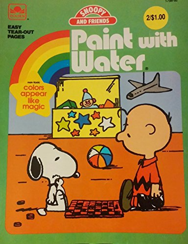 9780824167684: The Snoopy Paint with Water Book