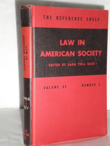 9780824200756: Law in American Society.