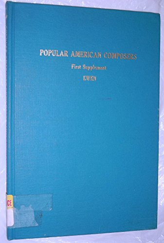 9780824204365: Popular American Composers