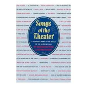 9780824207069: Songs of the Theater