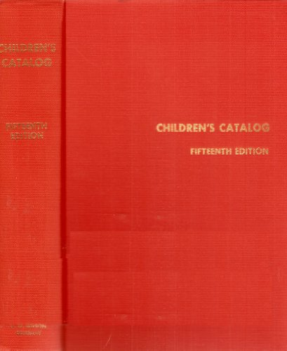 9780824207434: Children's Catalog (Standard Catalog Series)