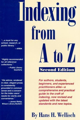 9780824208073: Indexing from A to Z