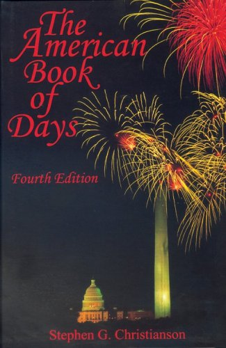 9780824209544: American Book of Days