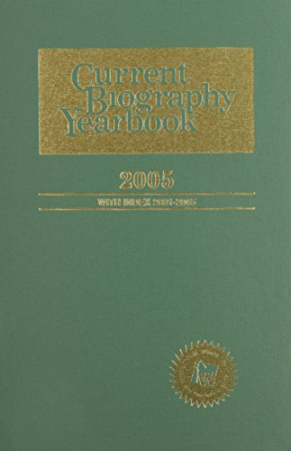 9780824210564: Current Biography Yearbook-2005