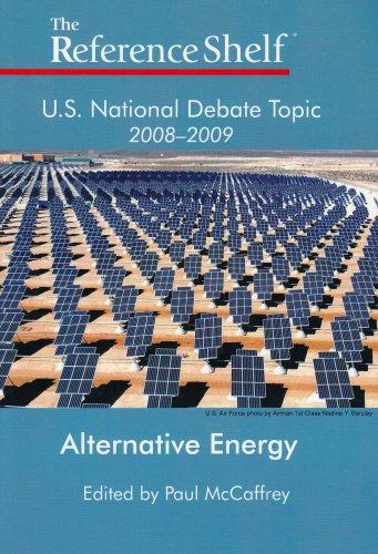 9780824210809: U.S. National Debate Topic 2008-2009: Alternative Energy (Reference Shelf)