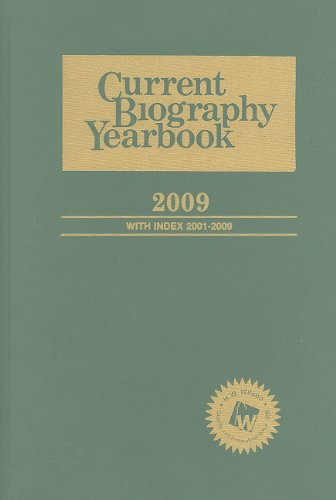 9780824211042: Current Biography Yearbook 2009