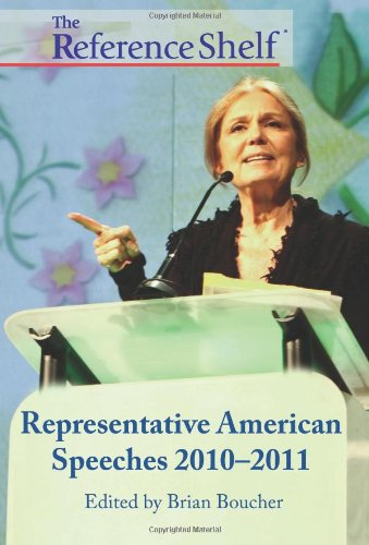 9780824211127: The Reference Shelf - Representative American Speeches 2010-2011