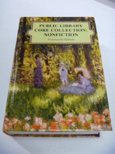 Public Library Core Collection: Nonfiction, 2013 Edition