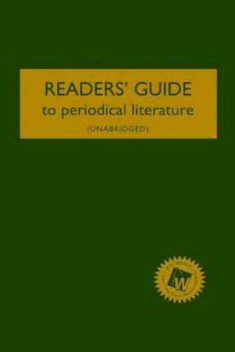 Readers' Guide to Periodical Literature 2012