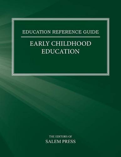 9780824213602: Early Childhood Education