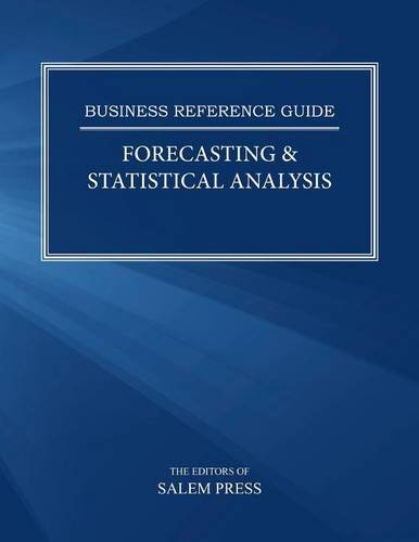 9780824214111: Forecasting & Statistical Analysis