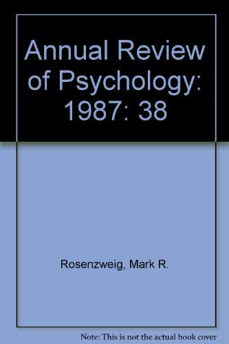 9780824302382: Annual Review of Psychology: 1987
