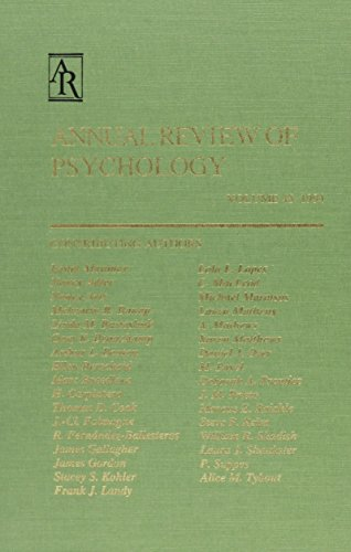 9780824302450: 45: Annual Review of Psychology: 1994