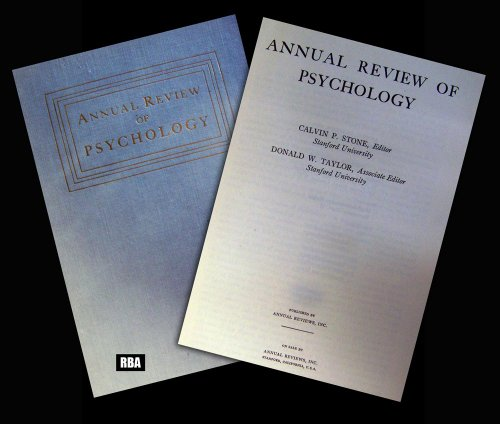 9780824302481: 48: Annual Review of Psychology: 1997
