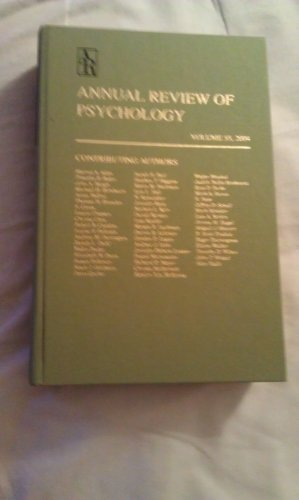 9780824302511: Annual Review of Psychology: 2000