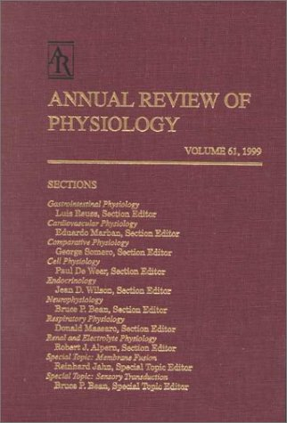 9780824303617: 61: Annual Review of Physiology: 1999