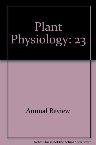 Annual Review of Plant Physiology Volume 18: Machlis, Leonard (editor)