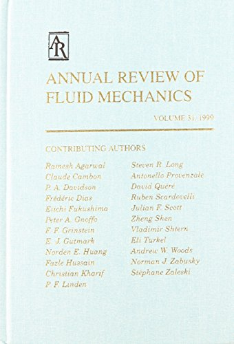 9780824307318: Annual Review of Fluid Mechanics: 1999