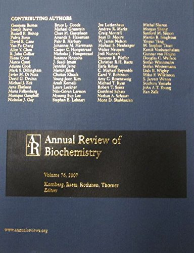 9780824308766: Annual Review of Biochemistry 2007
