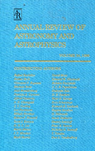 Annual Review of Astonomy and Astrophysics Vol 34