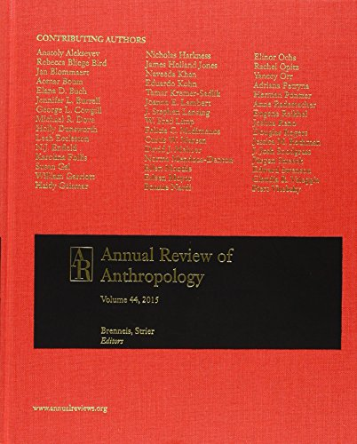 9780824319441: Annual Review of Anthropology 2015