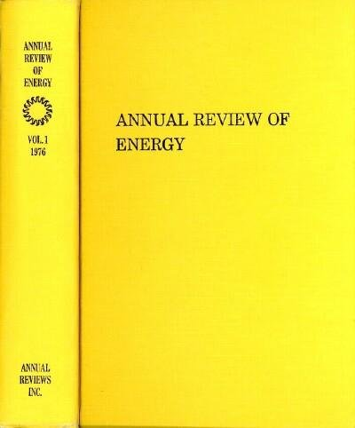 Annual Review of Energy