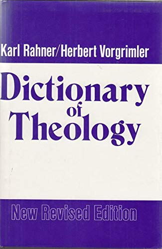 9780824500405: Title: Dictionary of theology