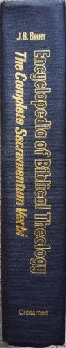 Encyclopedia of Biblical Theology : The Concise: Johannes B. Bauer