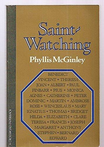 9780824504502: Saint Watching