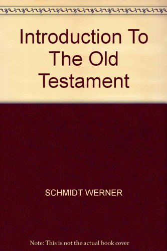 9780824506063: Old Testament introduction