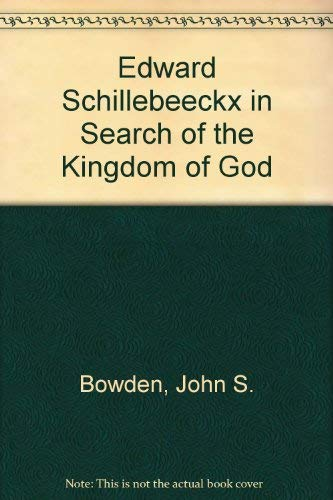 THE SCHILLEBEECKX CASE, OFFICAL EXCHANGE OF LETTERS: Schoof, Ted (Ed)