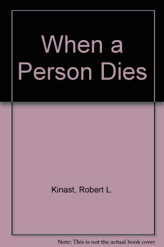 When a Person Dies: Pastoral Theology in Death Experiences