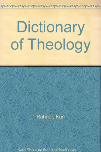 9780824506919: Dictionary of Theology