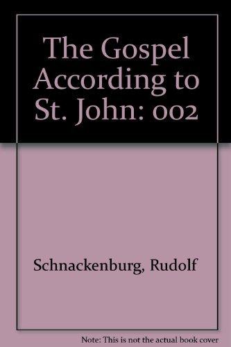 9780824509989: 002: The Gospel According to St. John, Vol. 2