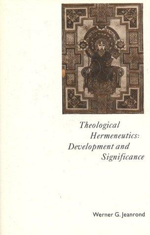 9780824511173: Theological Hermeneutics: Development & Significance