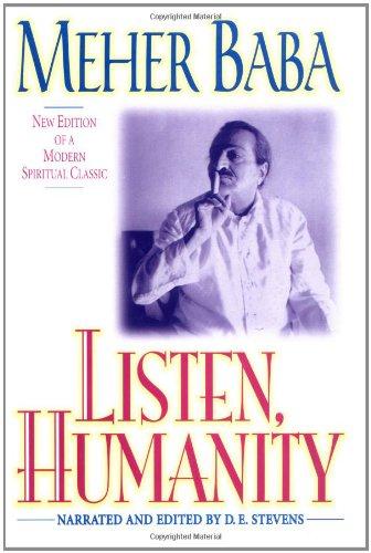 9780824517311: Listen, Humanity