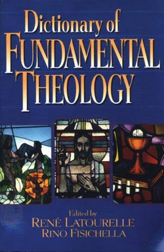 9780824518349: Dictionary of Fundamental Theology