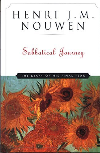 9780824518783: Sabbatical Journey: The Diary of His Final Year