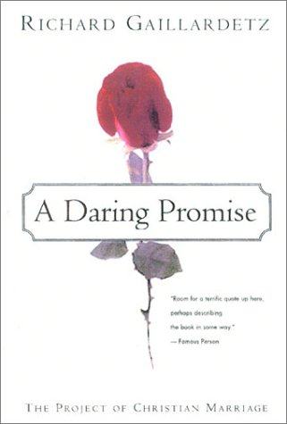 9780824519353: A Daring Promise: A Spirituality of Christian Marriage