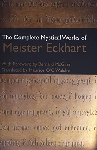 9780824525170: The Complete Mystical Works of Meister Eckhart