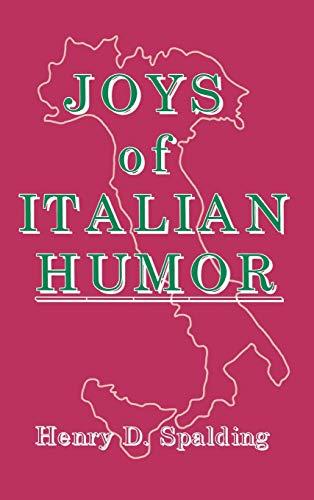 9780824602550: Joys of Italian Humor