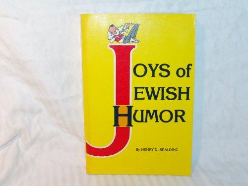 9780824602574: Joys of Jewish humor