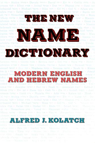 9780824603762: THE NEW NAME DICTIONARY