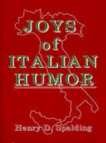 9780824603960: Joys of Italian Humor